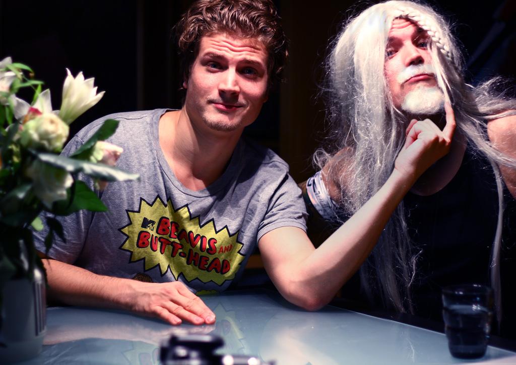 Felix Kraus und Richard Tator