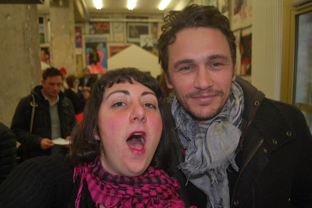 Nadja und James Franco