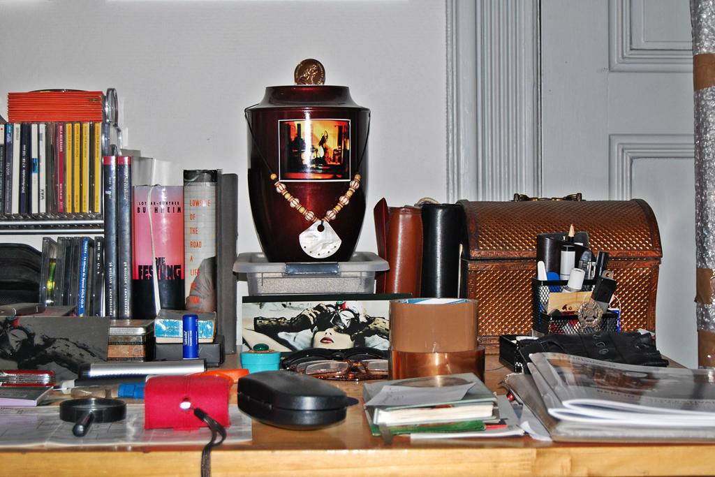 Still aus der Wohnung von Michael A. Russ (c) Sonja Steppan