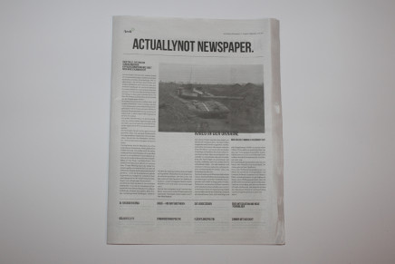 Actually Not Newspaper
