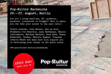Thomas Vorreyer | Pop-Kultur Nachwuchs