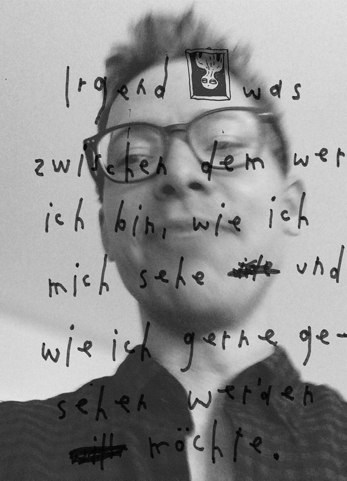 Künstlerselfie Rich Flikowski