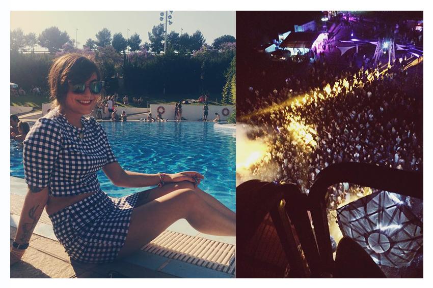 Jill in Barcelona