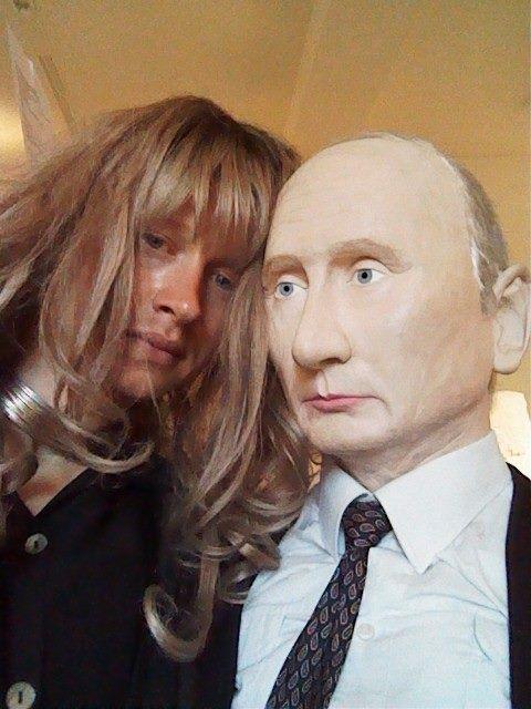 Putin und Leonid als Jesse Blake