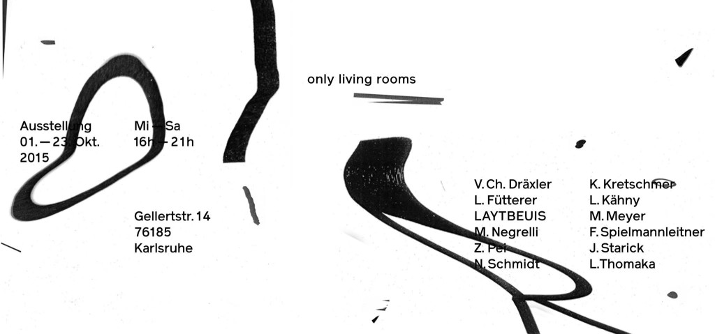 "Flyer ""Only living rooms"""