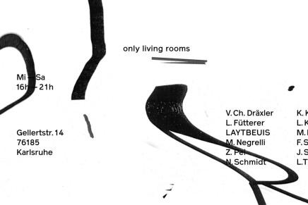 only living rooms | Abschlussausstellung des HFG Seminars RAUM/ZEIT/GEIST