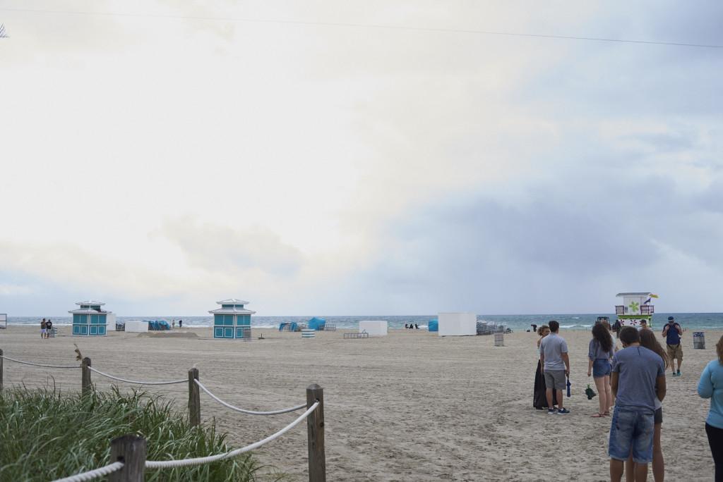Der Strand zur Art Basel Miami (C) Andy Kassier
