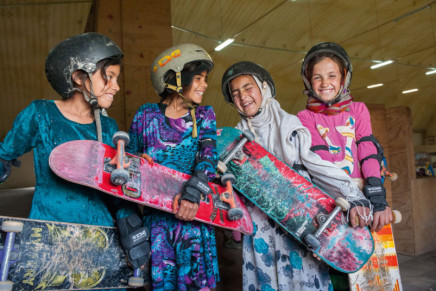 Skate Girls of Kabul von Jessica Fulford-Dobson