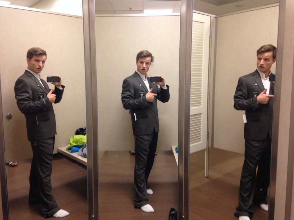 Ich in Ralph Lauren