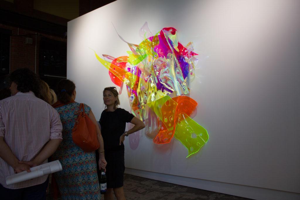 Plexiglas Skulptur von Berta Fischer