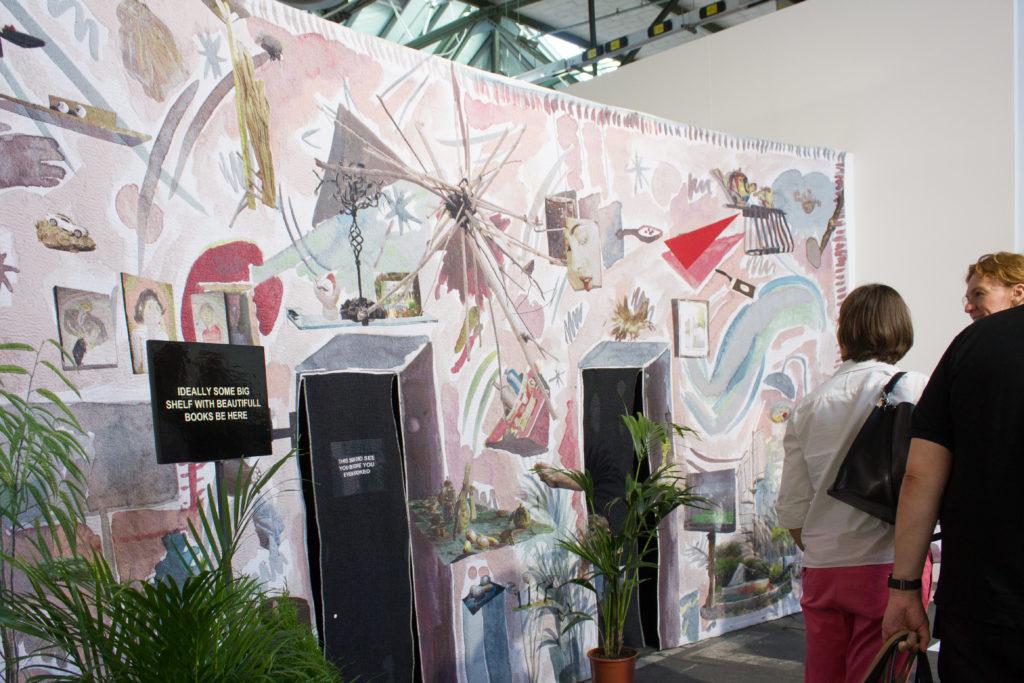 Installationsansicht Laure Prouvost
