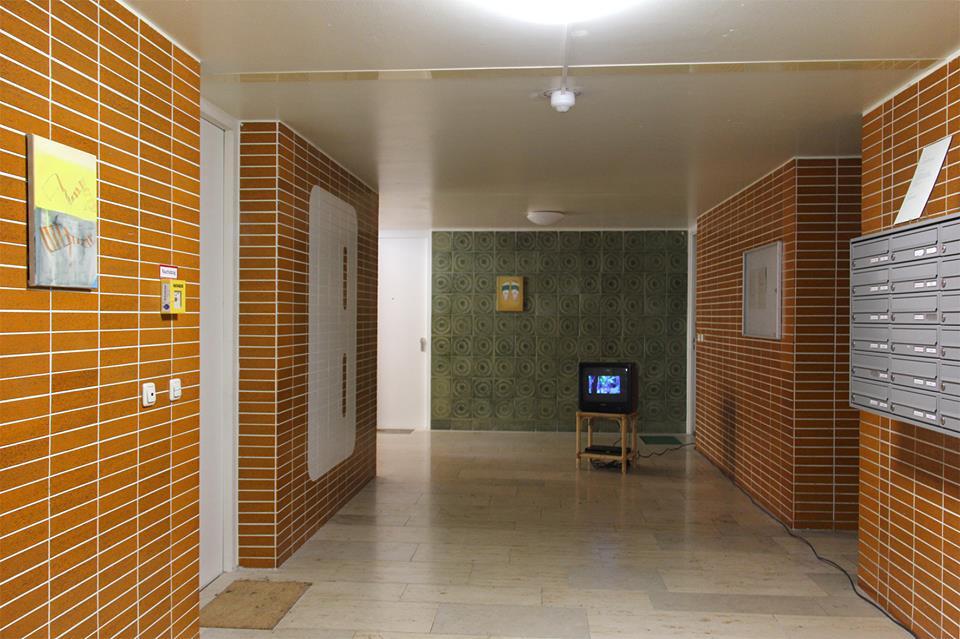 Treppenhaus des Karl-Marx-Ring 7